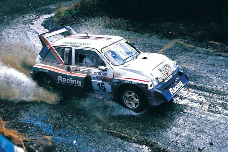 "birdsean: ""This was the last time the 6R4 and any Group B rally car would compete in the WRC. Here is Jimmy McRae driving the car to 8th place on the RAC Rally in November 1986. """