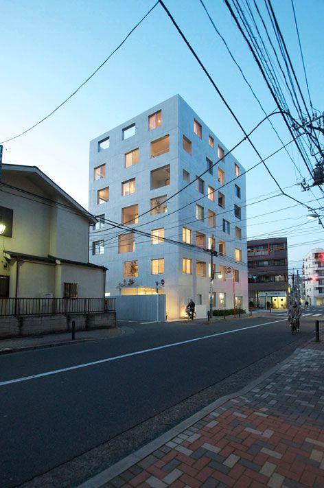 Go Hasegawa, Nerima Apartment in Tokyo, 2010