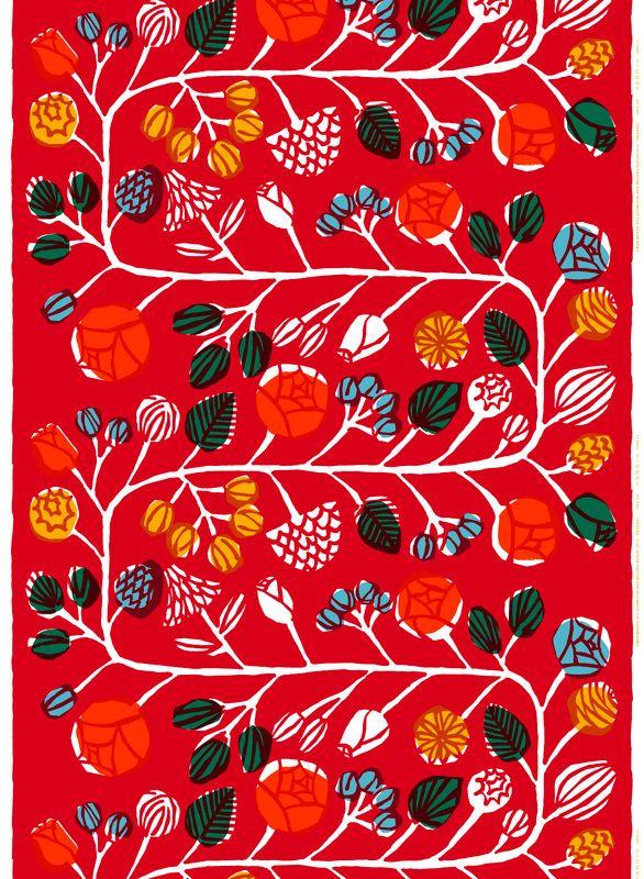 Kranssi pattern, design by Masaru Suzuki for Marimekko