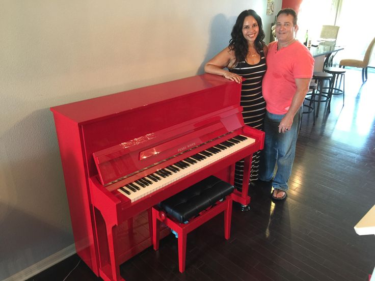 Limited Edition Pearl River Studio Piano Gets New Home | Dave's Piano Showroom