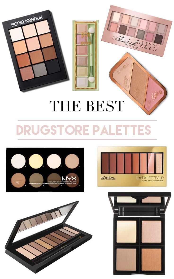 The Best Drugstore Palettes | Drugstore Makeup | Drugstore Makeup under $20