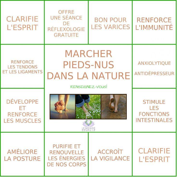PIEDS NUS DANS LA NATURE | Le Monde s'éveille