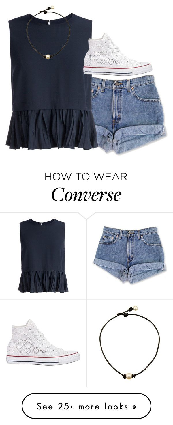 """going to universal!!!"" by chelseaxox0 on Polyvore featuring Elizabeth and James and Converse"