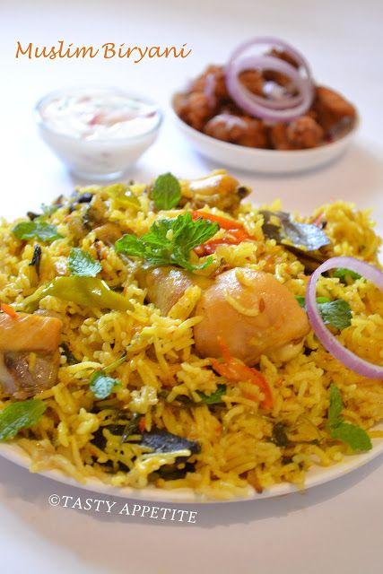 Enjoy the royal taste of Muslim style Chicken Biryani..  http://www.tastyappetite.net/2012/10/muslim-biryani-how-to-make-muslim.html