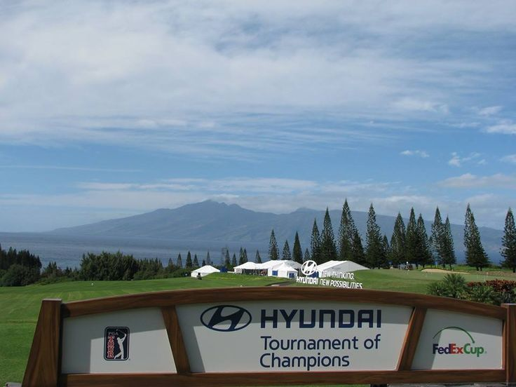 The Hyundai Tournament of Champions kick-starts 2015 on the PGA Tour, hosted by the Plantation Course, Kapalua Resort, Maui, Hawaii as has been since 1999.