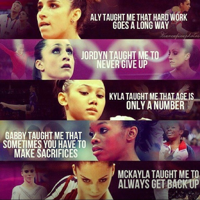 Fierce Five: Aly Raisman, Jordyn Wieber, Kyla Ross, Mckayla Maroney, Gabby Douglas