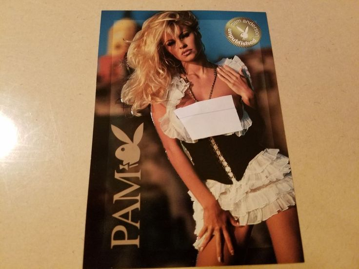 Playboy Best of Pam Anderson Jumbo Chase Card  #J2