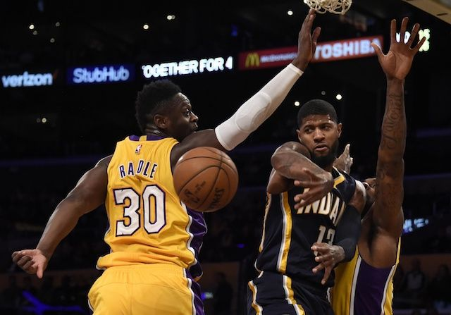 The Indiana Pacers will eventually trade Paul George, but for now the looming threat of him jumping to the Lakers is depressing his value.