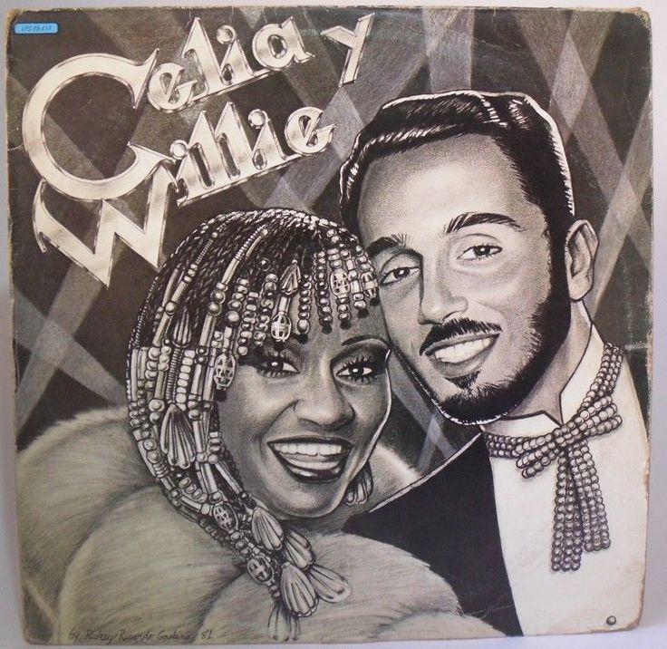 CELIA CRUZ & Willie Colon CELIA Y WILLIE LP Hecho en Venezuela #Salsa
