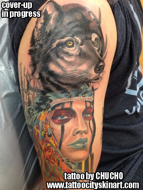 1000 images about cover up tattoos on pinterest tattoos for Skin tone tattoo cover up
