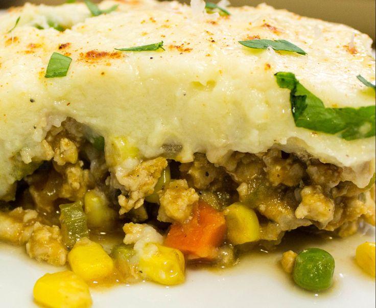 Mashed Cauliflower Sheppard's Pie