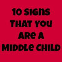 August 12 is National Middle Child Day! Here Aer 10 Signs That You Are A Middle Child