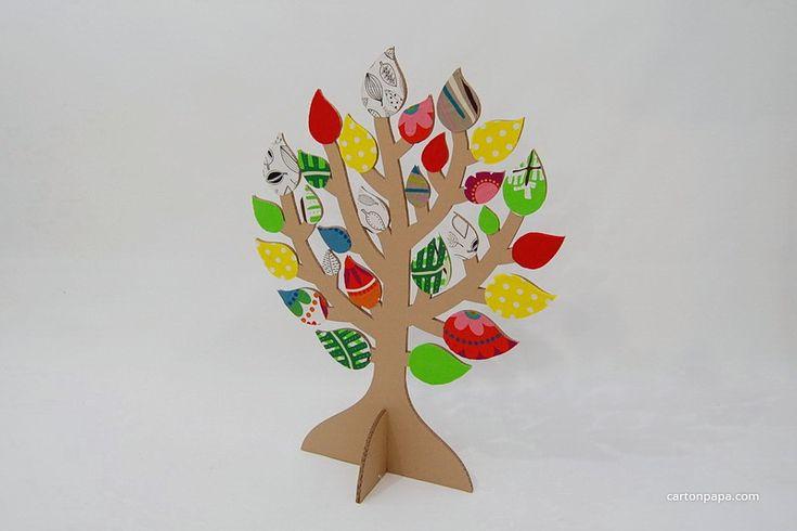 Дерево с листочками   Игрушки своими руками