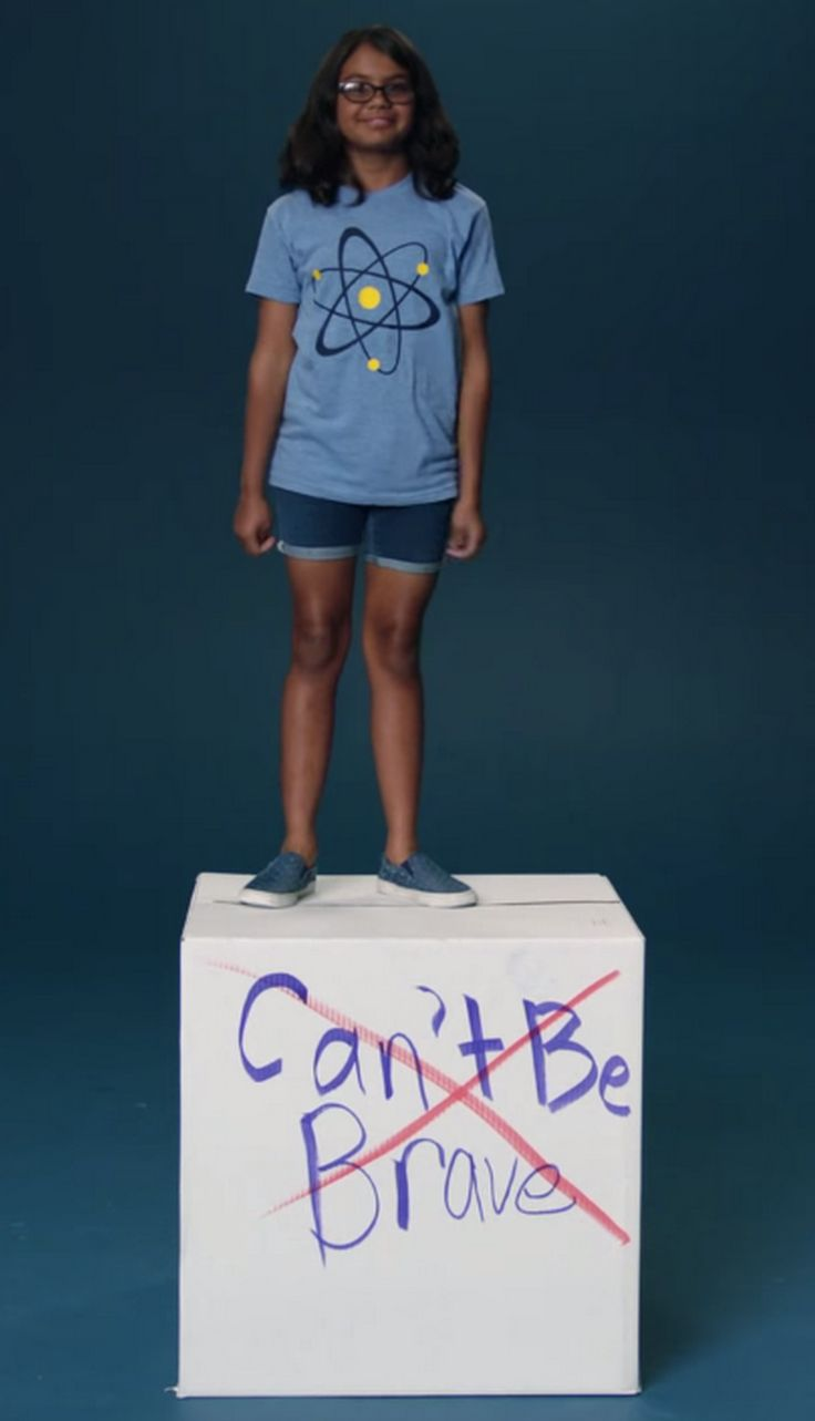 In a new #LikeAGirl ad, girls talk about what society tells them they can't do