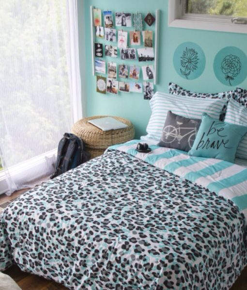 Cute bed set from Bethany mota collection at Aeropostale