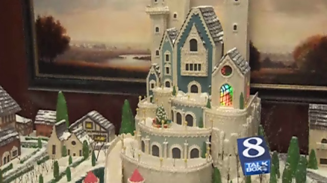 how to make a gingerbread castle
