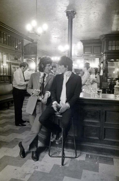Mick Jagger Keith Richards Rolling Stones vintage