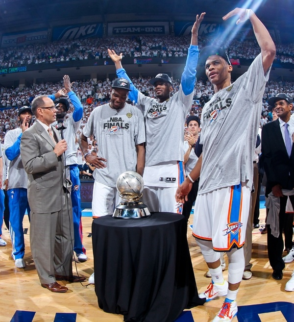 Western Conference Champs...OKC THUNDER!!!!!