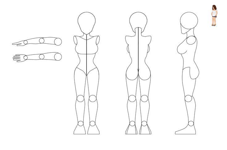 22 best Little Black Dress images on Pinterest Lbd, Little black - character model template