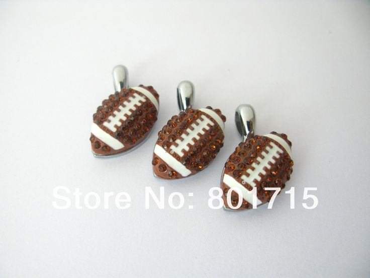 10pcs American Football Zinc Alloy Full Rhinestone Hang Pendant Charm DIY Accessory Fit Necklace Keychain Earring Free Shipping |  Buy online 10pcs American football zinc alloy full rhinestone hang pendant Charm DIY accessory fit necklace keychain earring free shipping only US $9.99 US $9.49. This shopping online sellers provide the information of finest and low cost which integrated super save shipping for 10pcs American football zinc alloy full rhinestone hang pendant Charm DIY accessory…