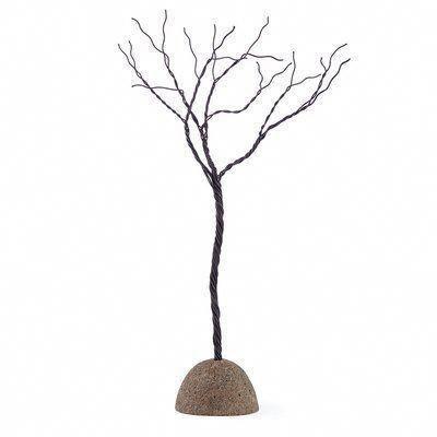 Loon Peak Twisted Wire Metal Tree Sculpture Metaltreeart