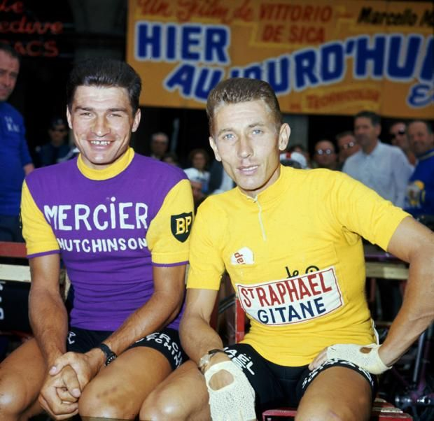 Raymond Poulidor & Jacques Anquetil - Tour de France 1967