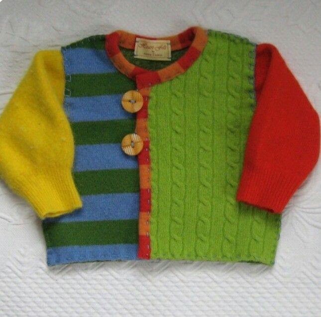 Childrens Cardigan(recycled )