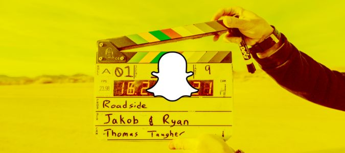 A burgeoning Snapchat film scene isn't absurd. #snapchat #film #snap #MySnapchatAdventure #SnapLove #SnapchatFilmSchool #SnapchatFilmmaker