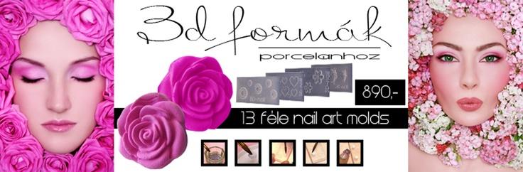Forms,sablons for gels of nails