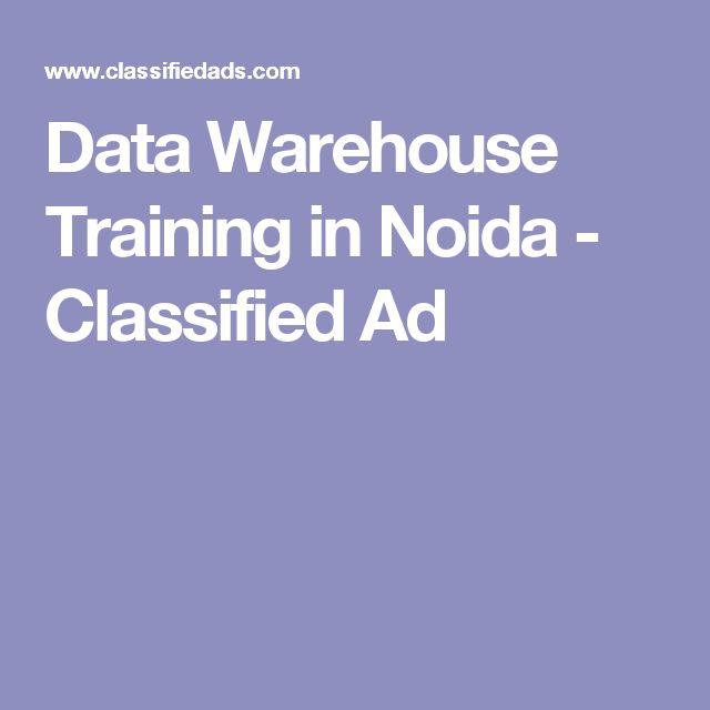 Data Warehouse Training in Noida - Classified Ad