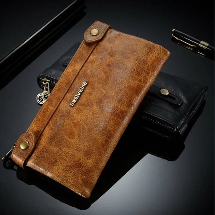 Genuine Leather Wallet Case Cover for Sony Xperia  Z3 Z4 Z5 compact Premium M2 M4 M5 Aqua  E3 E4 C4 C5 C6 Universal Ultra Dual