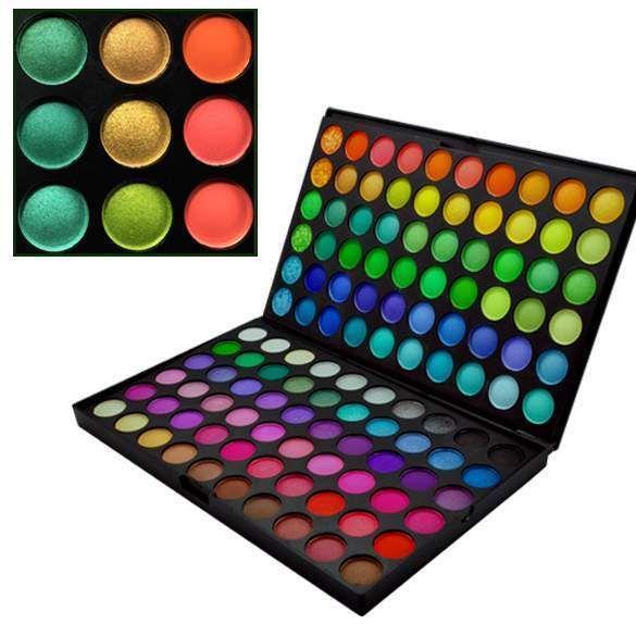 1x New 120 Colors Colorful Women Make up Makeup Comestic Powder Eyshadow Palette