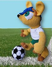 Ravelry: Fuleco - WK mascotte pattern by Ami Fan