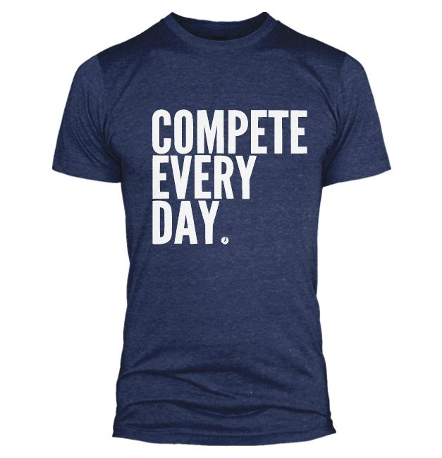 Compete Every Day Classic Shirt Men's Medium