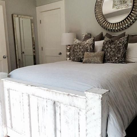 White Wood Bed Frames top 25+ best solid wood bed frame ideas on pinterest | walnut
