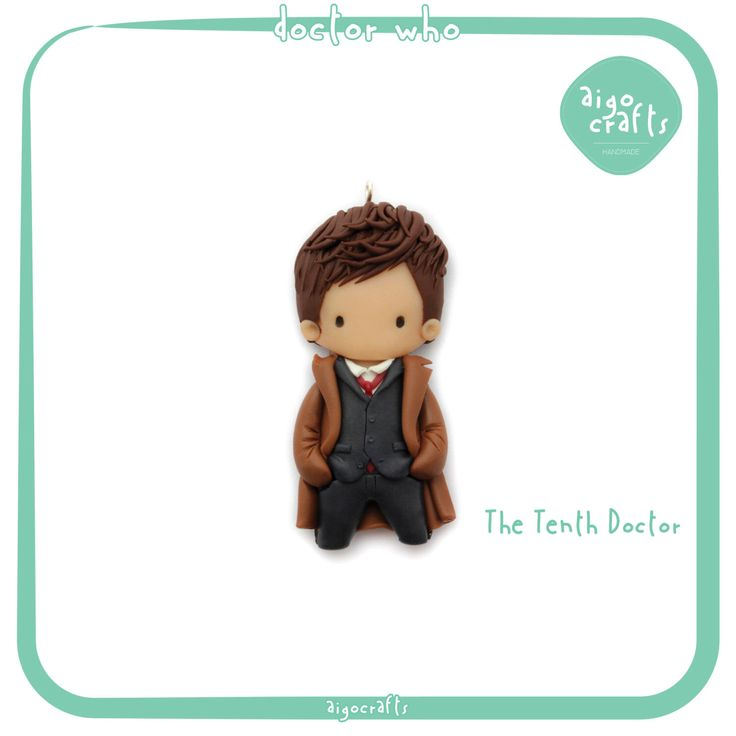 Doctor Who Polymer Clay The Tenth Doctor David Tennant Cell Phone Charm – Doctor Who Collection by AigoCrafts on Etsy https://www.etsy.com/listing/223600595/doctor-who-polymer-clay-the-tenth-doctor
