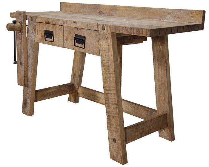 Mobiliario para comercios. Banco de carpintero modelo Inca.
