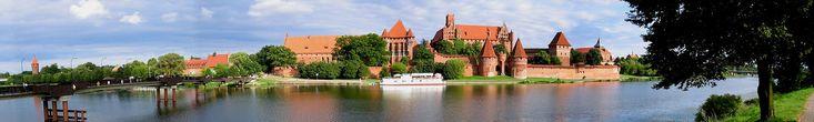 Malbork (Marienburg), Teutonic Knight stronghold captured by Stibor de Poniec of Ostoja
