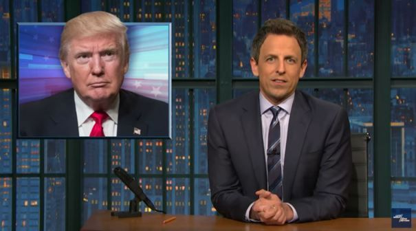 Seth Meyers: Donald Trump's Past Few Years In Office Have Only Been One Month
