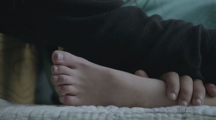 Laura Slade Wiggins' feet