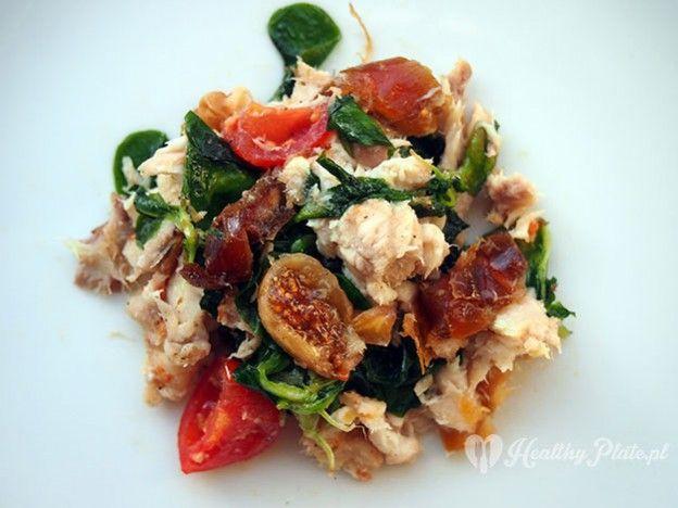 mackerel salad with figs and dates / ensalada de caballa con higos y dátiles