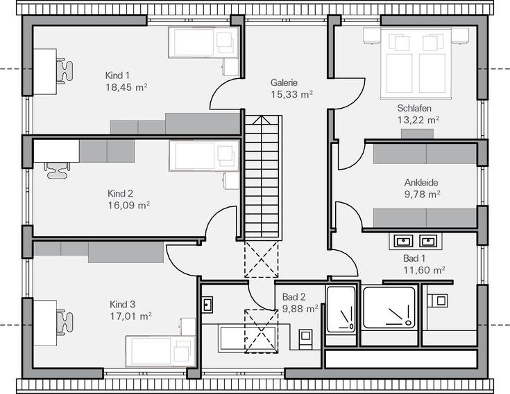 Die Besten 25+ Grundriss Wohnung Ideen Auf Pinterest Eigenheim   Badezimmer  2 Quadratmeter