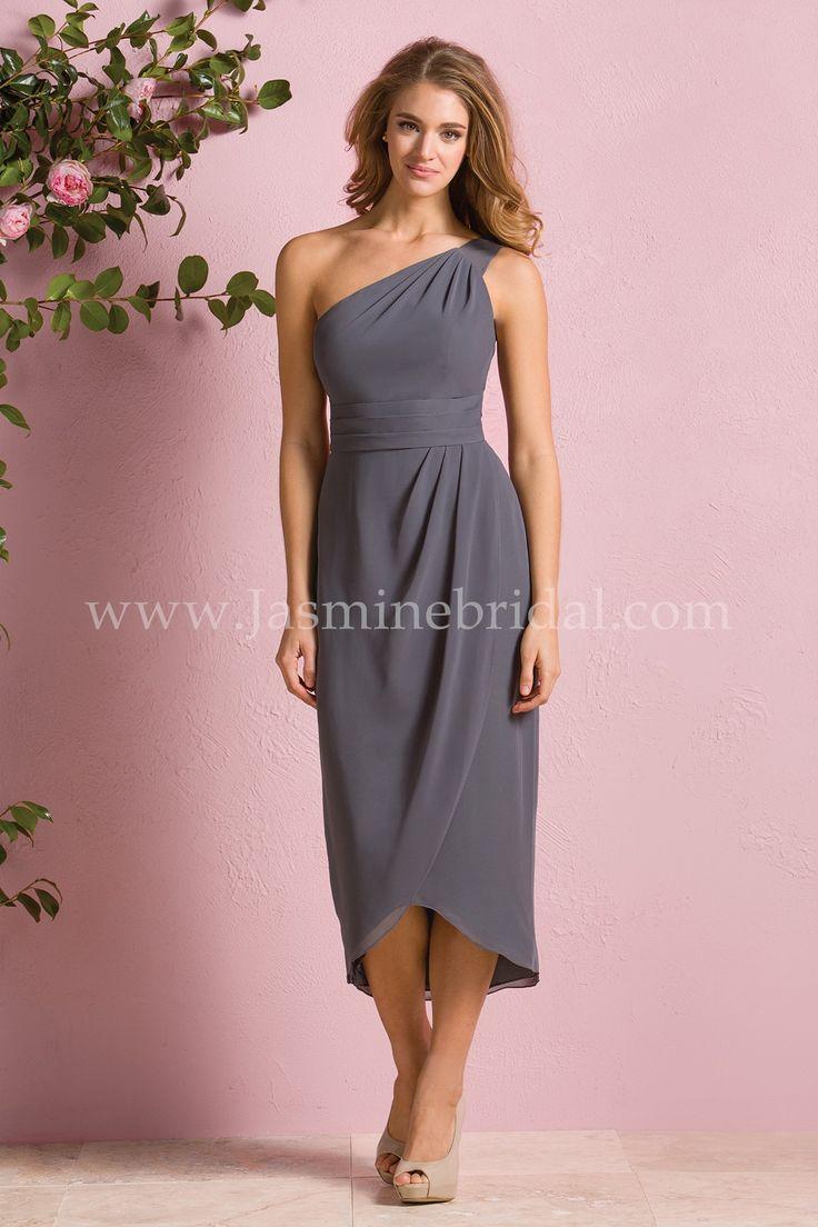 317 Best Bridesmaid Images On Pinterest African Dress Magnolia Sleveless Jumpsuit Wanita Coklat Cokelat M Jasmine Bridal B2 Style B173061 In Iron This Chic With