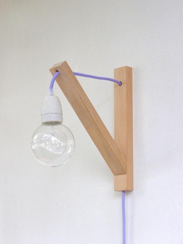 Wandleuchte, minimalistische Wandleuchte - de.dawanda.com