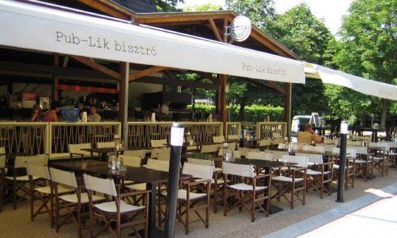 """Pub-lik Bisztró, kávézó és pub / Pub-Lik Bistro Café and Pub _____________________________ """"Széles, minõségi bor- és pálinka-kínálattal; koktélokkal; ingyenes Wifi lehetõséggel; internet- sarokkal és fergeteges bisztro hangulattal várjuk a kedves vendégeket."""""""