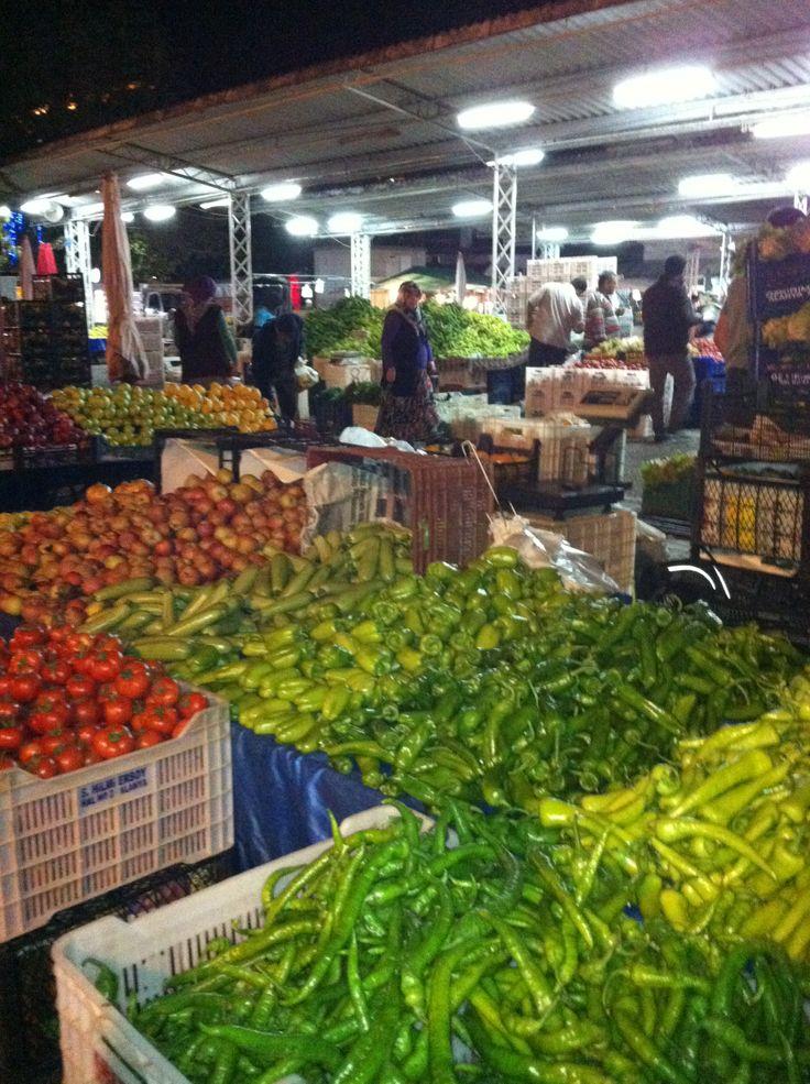 Kvällsmarknad Alanya