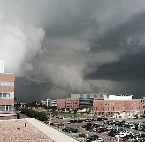 Recent Tornado In Denver, Colorado