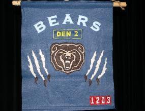 Bear Den banner - Pack 1203 San Pedro Bears
