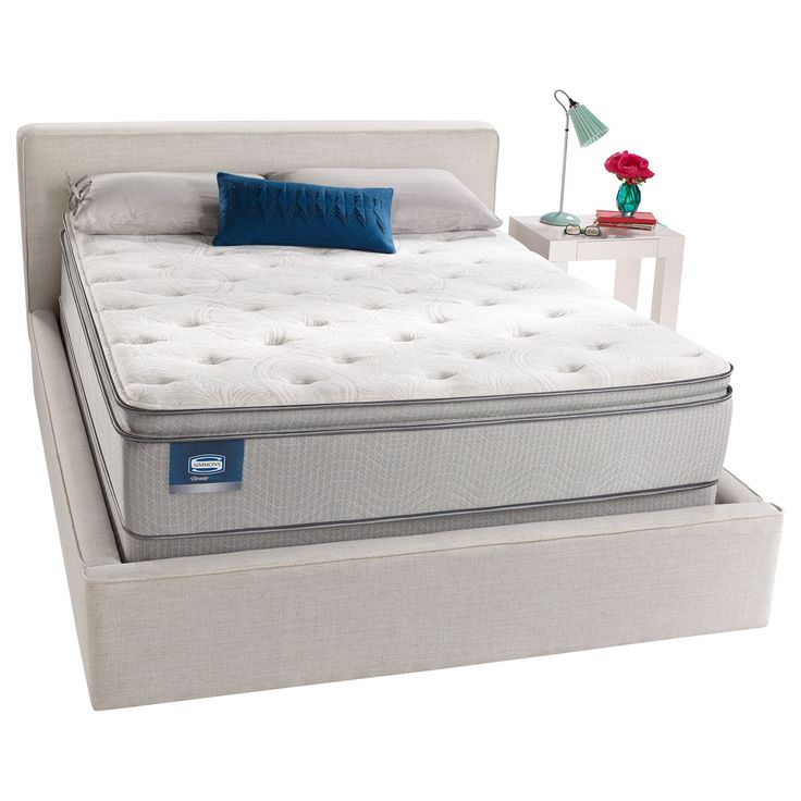 simmons beautysleep titus pillow top fullsize mattress set low profile set