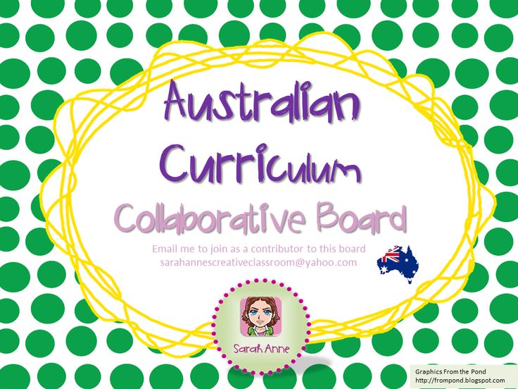 We are collecting resources, ideas, inspiration, tips and tricks to help us tackle the new Australian Curriculum.